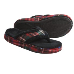 Acorn Cate Spa Thong Slippers - Wool Blend (For Women)