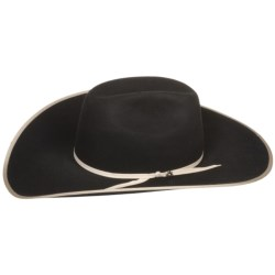 Bailey Edgewater Cowboy Hat - 6X Wool Felt, Cheyenne Crown (For Men and Women)