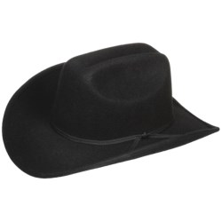 Eddy Bros by Bailey Eddy Bros. by Bailey Brahma Cowboy Hat - Wool Felt, Cattleman Crown (For Men and Women)
