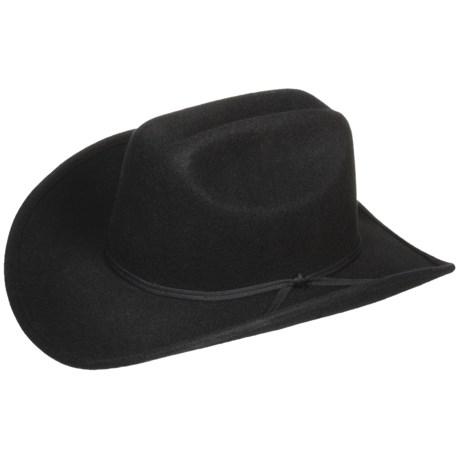 Eddy Bros. by Bailey Brahma Cowboy Hat - Wool Felt, Cattleman Crown (For Men and Women)