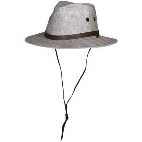 Wind River by Bailey Wilder Outback Hat - Pinch Crown (For Men and Women)