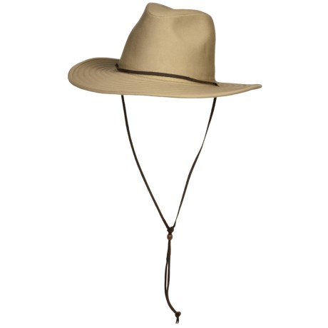 Wind River by Bailey Logan Safari Hat - Pinch Crown (For Men and Women)