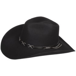 Bailey Bennett Cowboy Hat - 2X Wool Felt, Hondo Crown (For Men and Women)