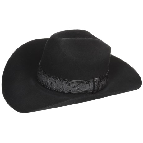 Bailey Day Money Cowboy Hat - 3X Felt, Graduated Crown (For Men and Women)