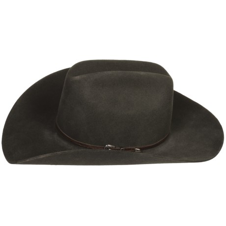 Bailey Rufus Cowboy Hat - 4X Wool Felt, Cattleman Crown (For Men and Women)