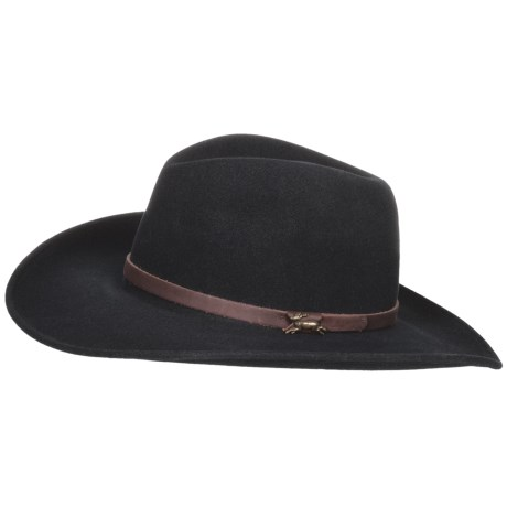 Wind River by Bailey Fernwood Cowboy Hat - Wool Felt, Cassidy Crown (For Men and Women)