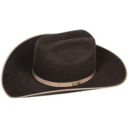 Bailey Carter Cowboy Hat - 6X Felt, Cattleman Crown (For Men and Women)