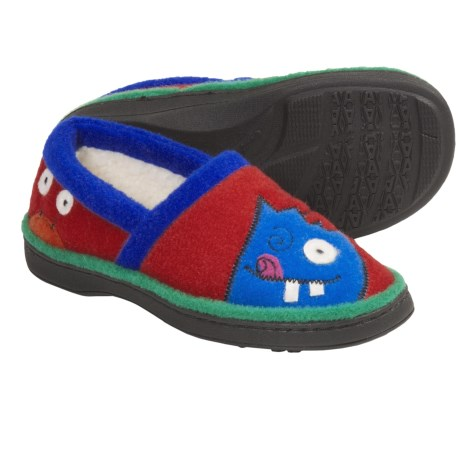 Acorn Monster Moc Slippers (For Kids)