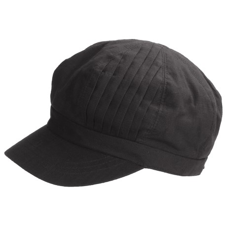 Betmar Pleated-Crown Cap (For Women)