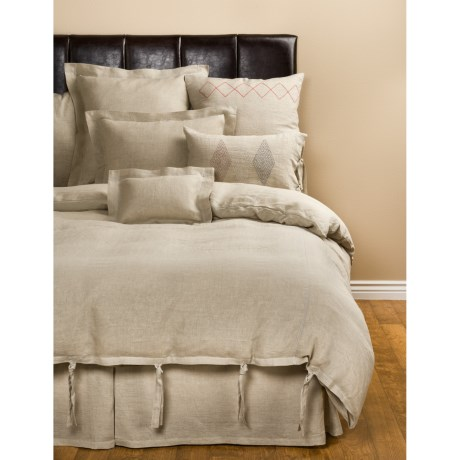 Coyuchi Linen Breeze Bed Skirt - Queen
