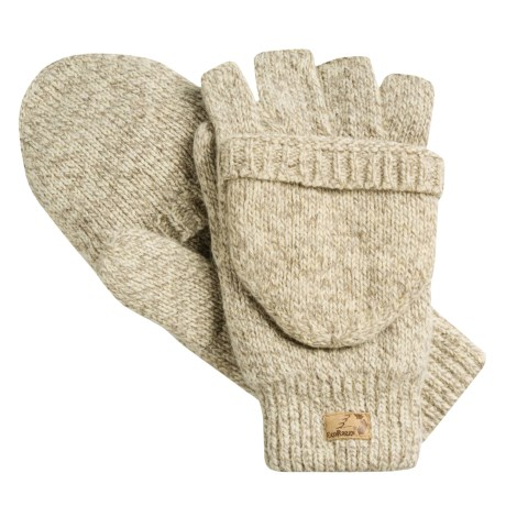 Jacob Ash EcoRaggs® Pop-Top Mitten-Gloves - Insulated (For Men)
