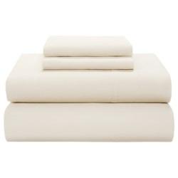 Coyuchi 220 TC Percale Flat Sheet - Twin-Twin XL, Organic Cotton