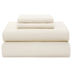 Coyuchi 220 TC Percale Flat Sheet - Full-Queen, Organic Cotton