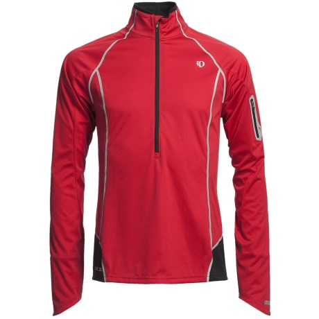 Pearl Izumi P.R.O. Fly Evo Shirt - Zip Neck, Long Sleeve (For Men)
