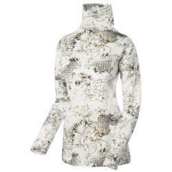 Isis Painterly Funnel Turtleneck - Long Sleeve (For Women)