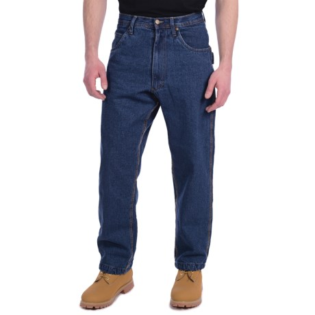 Lakin Mckey Flannel-Lined Denim Jeans - Relaxed Fit (For Men)