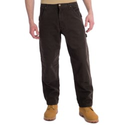 Lakin McKey Lakin Mckey Canvas Duck Dungaree Work Pants - Flannel Lined, Relaxed Fit (For Men)
