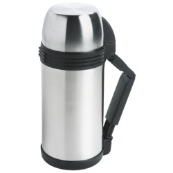 Oggi Stainless Steel Flask - Wide Mouth, Insulated