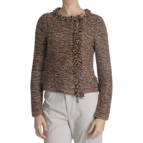 Paperwhite Zip Front Jacket (For Women)