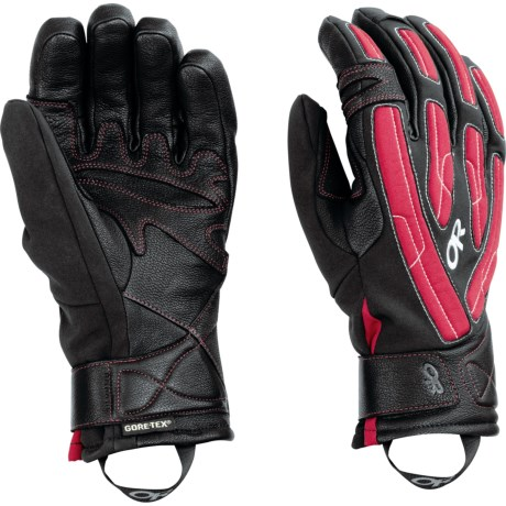 Outdoor Research Warrant Gore-Tex® Gloves - Waterproof, Insulated (For Men and Women)