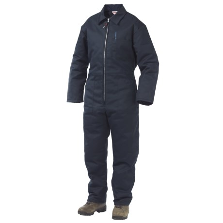 Work King Twill Coveralls - Insulated (For Men)