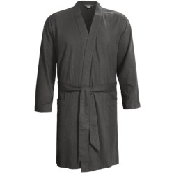 Coyuchi Slub Jersey Robe - Organic Cotton, Long Sleeve (For Men)