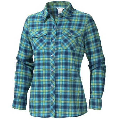 Marmot Southshore Flannel Shirt - UPF 30, Long Sleeve (For Women)
