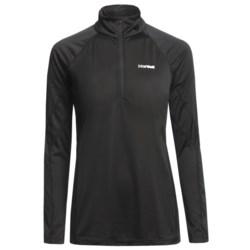Marmot Polartec® PowerDry® Base Layer Top - Lightweight, Zip Neck, Long Sleeve (For Women)