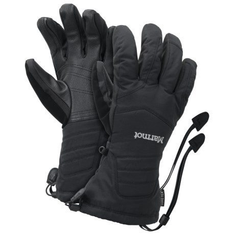 Marmot Chute Gore-Tex® Gloves - Waterproof, Insulated (For Men)