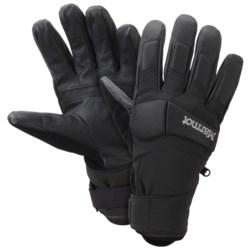 Marmot Aerial Undercuff Gloves - Waterproof, Insulated (For Men)