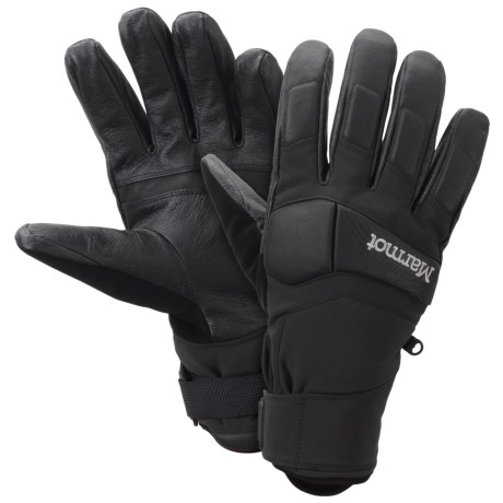 Marmot Aerial Undercuff Gloves - Waterproof, Insulated (For Men)