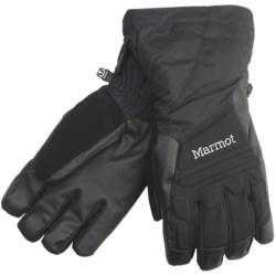 Marmot U-Notch Gloves - Waterproof, Insulated (For Men)