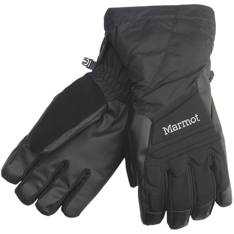 Marmot U-Notch Gloves - Waterproof, Insulated (For Men)