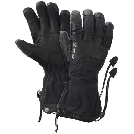 Marmot Hut Tour Gore-Tex® XCR® Gloves - Waterproof, Insulated (For Men)