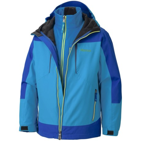 Marmot Gorge Component 3-in-1 Jacket - Waterproof, Removable Liner (For Boys)