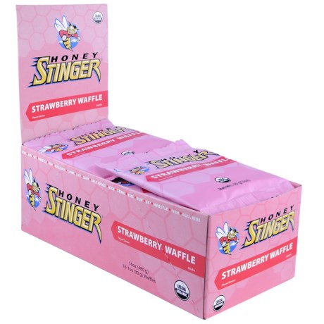 Honey Stinger Organic Energy Waffle - Box of 16