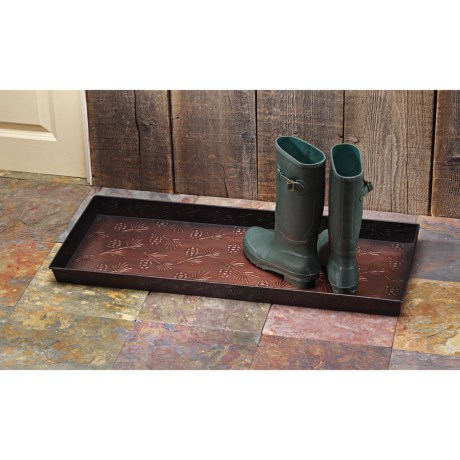 Extra Weave USA Antique Bronze Boot Tray