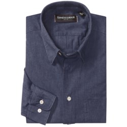 Kenneth Gordon Cotton-Linen Sport Shirt - Long Sleeve (For Men)