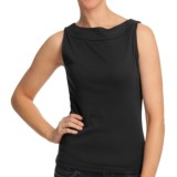 Boat Neck Tank Top - Cotton (For Women)