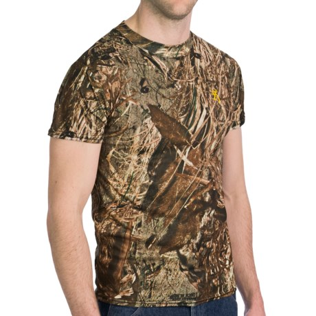 Browning Wasatch Vapor Max T-Shirt - Short Sleeve (For Big and Tall Men)