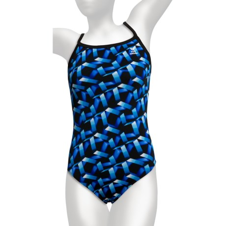TYR Atlantic Competition Swimsuit - Diamond Back (For Women)