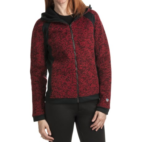 Kuhl Ferrata Sweater - Wool Bonded Fleece (For Women)