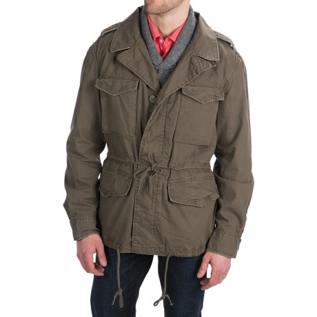 Martin Gordon Army Jacket - Cotton Canvas (For Men)