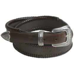 Roper Croc Print Belt - Leather (For Men)