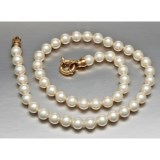 Joia De Majorca Organic Pearl Necklace - 8mm, 18""