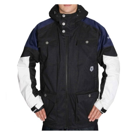 Sessions Ecto Jacket - Waterproof, Insulated (For Men)
