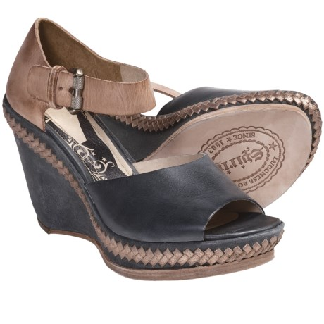 Spirit by Lucchese Chloe Wedge Sandals - Leather (For Women)