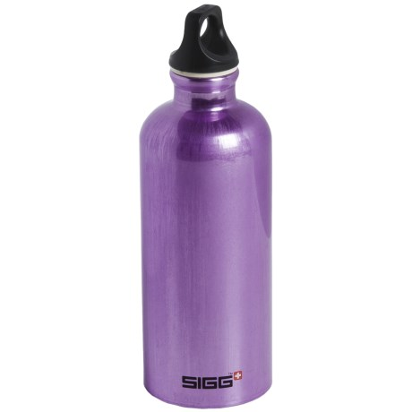 Sigg Traveller Screw-Top Water Bottle - 0.6L, BPA-Free