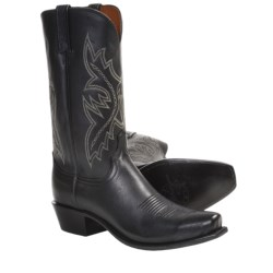 Lucchese NV7092 Softie Calf Cowboy Boots - 74-Toe (For Men)