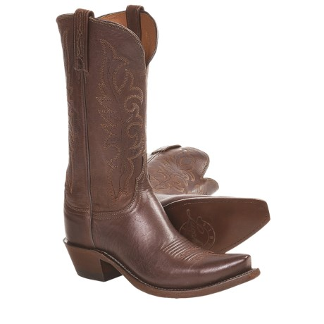 1883 by Lucchese Cowboy Boots - Leather, S54-Toe (For Women)